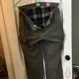 Men's lined Pants